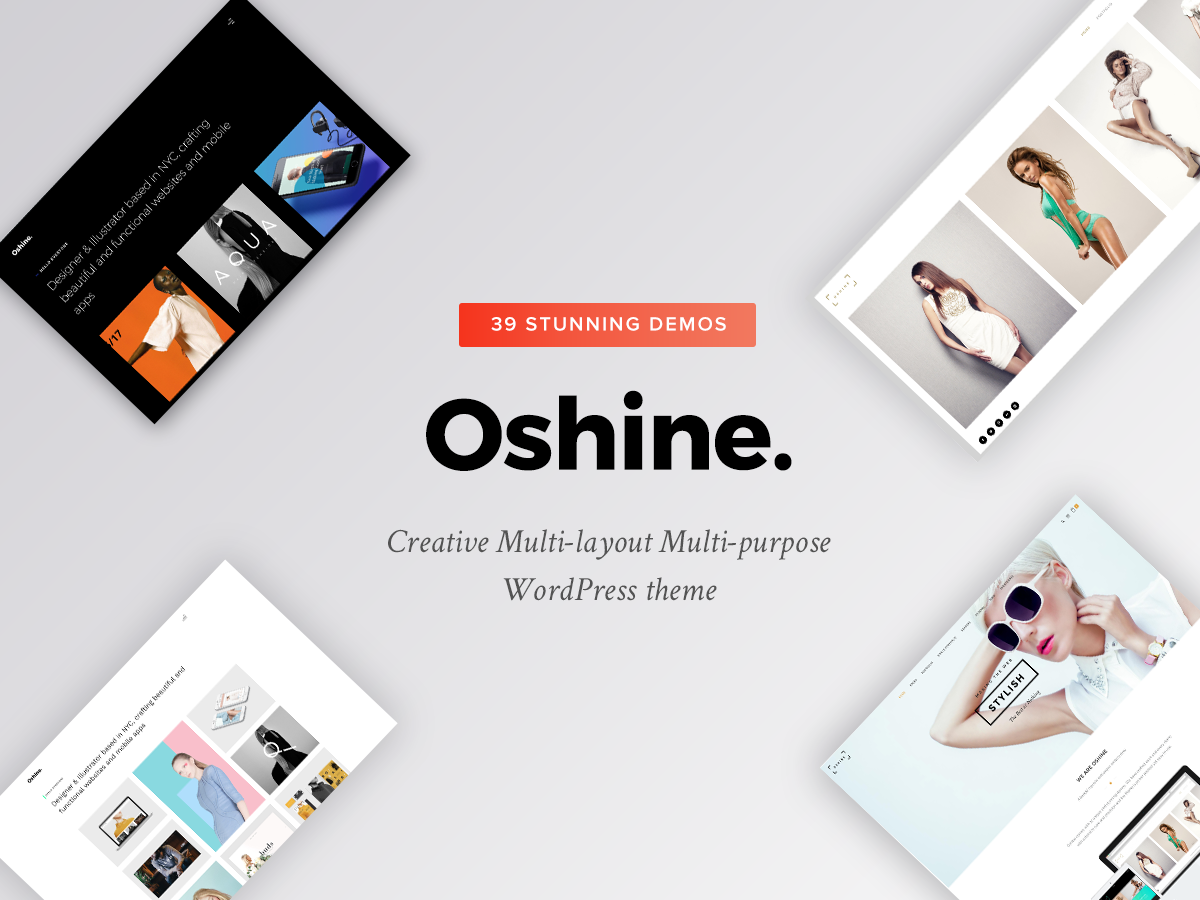 Oshin - Creative Multi Purpose Wordpress Theme